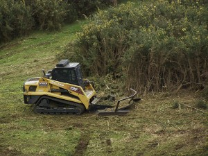 Nigel Stiles' 100 HP Rubber Tracked Skid Steer Machine